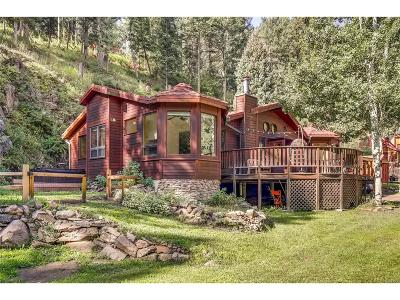 Indian Hills Single Family Home Under Contract: 5547 Parmalee Gulch Road