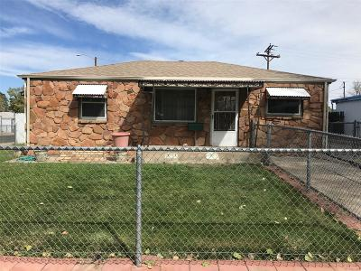 Commerce City Single Family Home Under Contract: 5821 East 61st Avenue