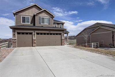 Castle Rock Single Family Home Active: 5704 Clover Ridge Circle