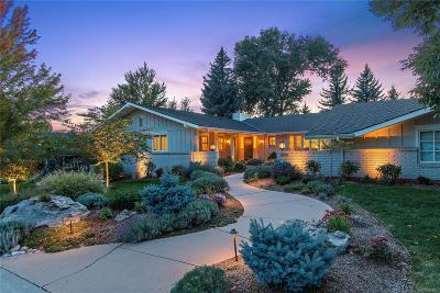 Cherry Hills Village Single Family Home Sold: 4041 West Nassau Circle