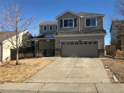 Aurora Single Family Home Under Contract: 3682 Himalaya Court