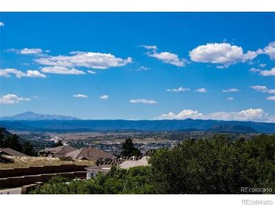 Castle Rock Residential Lots & Land Active: 5471 Water Oak Circle