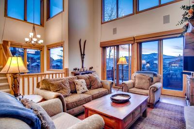 Steamboat Springs Condo/Townhouse Active: 3001 Mountaineer Circle #A