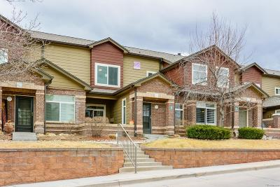 Highlands Ranch, Lone Tree Condo/Townhouse Under Contract: 6502 Sillver Mesa Drive #D