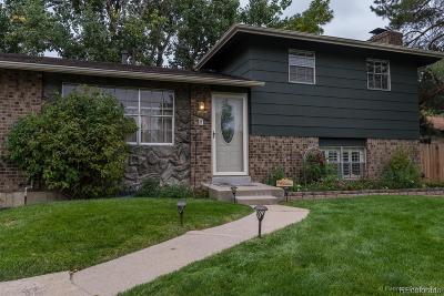 Broomfield Single Family Home Under Contract: 1440 Abilene Drive