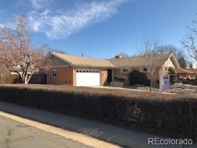 Northglenn Single Family Home Active: 105 Linda Sue Lane