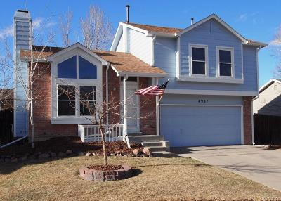 Castle Rock Single Family Home Under Contract: 4937 East Barrington Avenue