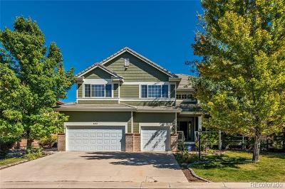 Lone Tree Single Family Home Active: 9450 South Aspen Hill Way