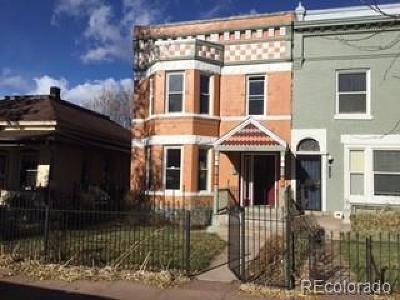 Denver Single Family Home Active: 3137 Stout Street
