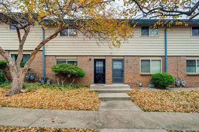 Arvada Condo/Townhouse Under Contract: 5270 Garrison Street #7