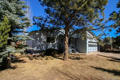 Woodland Park Single Family Home Under Contract: 680 Red Feather Lane