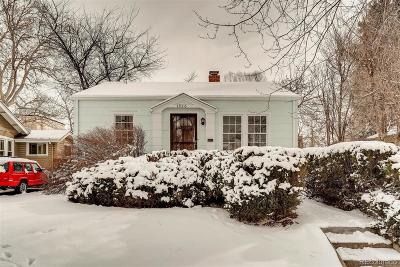 Denver Single Family Home Under Contract: 1926 South Williams Street
