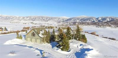 Steamboat Springs Single Family Home Active: 29105 Grouse Creek Park Road
