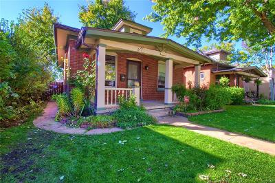 Denver Single Family Home Active: 1181 South Emerson Street