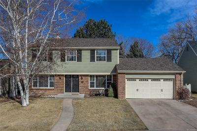 Centennial Single Family Home Under Contract: 6840 South Niagara Court