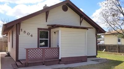 Greeley Single Family Home Under Contract: 1804 2nd Street