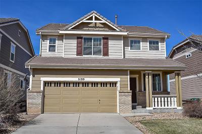 Castle Rock Single Family Home Active: 2199 Broadleaf Loop