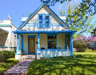 Single Family Home Under Contract: 1440 South Pennsylvania Street
