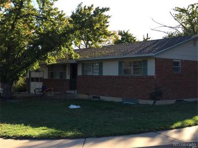 Boulder Multi Family Home Active: 4600 Macky Way
