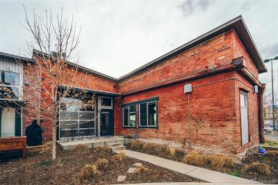 Denver Condo/Townhouse Sold: 3033 Blake Street #110