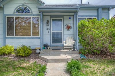 Castle Rock Single Family Home Under Contract: 136 South Quicksilver Avenue