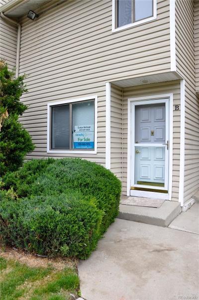 Arvada Condo/Townhouse Under Contract: 7885 Barbara Ann Drive #B