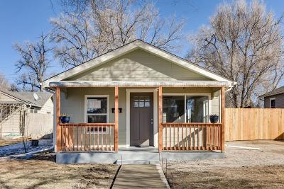 Denver Single Family Home Active: 116 South Knox Court