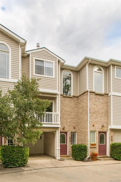 Boulder Condo/Townhouse Under Contract: 4945 Noble Park Place