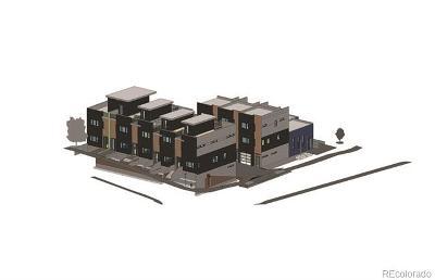 Denver Residential Lots & Land Active: 2803 & 2809 West Short Place