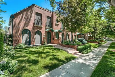 Denver Condo/Townhouse Active: 312 Garfield Street