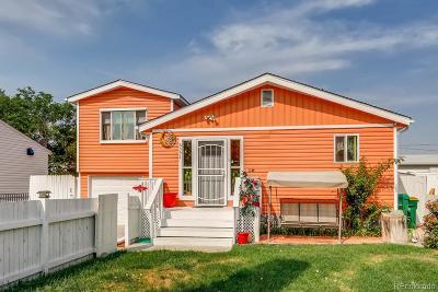 Commerce City Single Family Home Active: 6551 Niagara Street