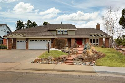Centennial Single Family Home Active: 5062 East Mineral Circle