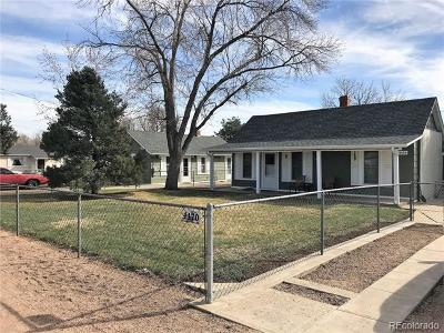 Wheat Ridge Single Family Home Under Contract: 4470 Parfet Street