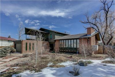Aurora Single Family Home Under Contract: 2076 South Ironton Court