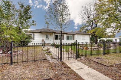 Denver Single Family Home Active: 760 South Tejon Street