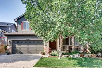Highlands Ranch CO Single Family Home Under Contract: $610,000