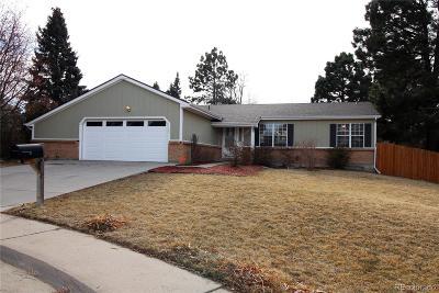 Aurora CO Single Family Home Active: $399,900