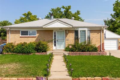 Northglenn Single Family Home Active: 10947 Alvin Drive