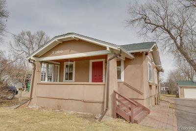 Lakewood Single Family Home Active: 2200 Estes Street