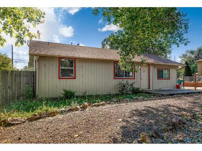 Golden Single Family Home Under Contract: 1196 Union Street