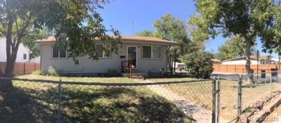 Commerce City Single Family Home Active: 7795 Poplar Street