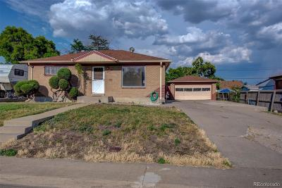 Denver Single Family Home Active: 7040 Galapago Street