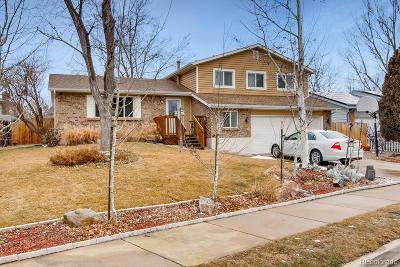 Arvada Single Family Home Active: 7525 Devinney Court