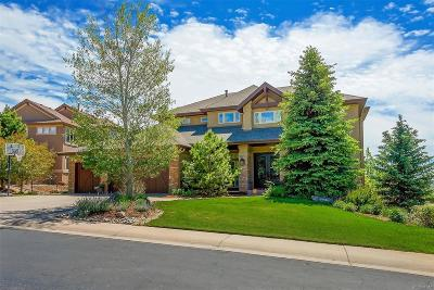 Castle Pines CO Single Family Home Under Contract: $1,350,000