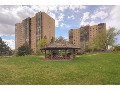Denver Condo/Townhouse Active: 7877 East Mississippi Avenue #102