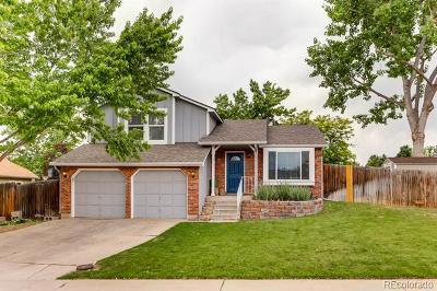 Littleton Single Family Home Under Contract: 8087 South Garland Court