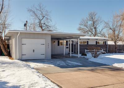 Littleton Single Family Home Active: 342 West Caley Avenue