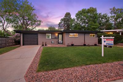 Arvada Single Family Home Under Contract: 6145 Cody Street