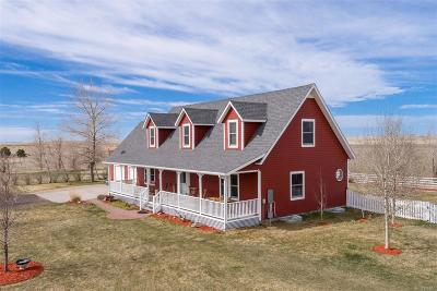 Bennett Single Family Home Under Contract: 48150 County Road 38