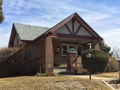 Denver Single Family Home Under Contract: 2800 North Dahlia Street